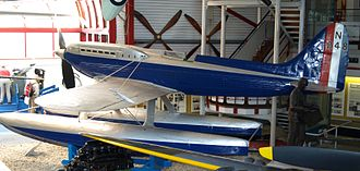 Supermarine S.6 - Supermarine S.6A, N248 on display at the Solent Sky museum.