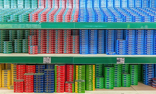 Supermarket in recife, pernambuco, Brazil