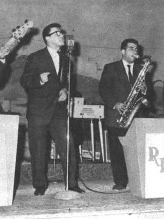 Swamp pop - Swamp pop musician Jivin' Gene, c. 1959