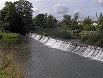 Weir at Swineford Lock