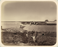 Syr Darya Oblast. Fortification of Fort No. 2 (Karamakche). Embankment of the Syr Darya by the Fort WDL10998.png