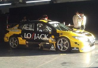 Renault Sport - A Renault Fluence TC2000 touring car. Since 2011 Renault Sport's Argentinian division has the control of the Renault's official TC2000 team