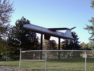 MGM-13 Mace - Mace at Belleview Park in Englewood, Colorado