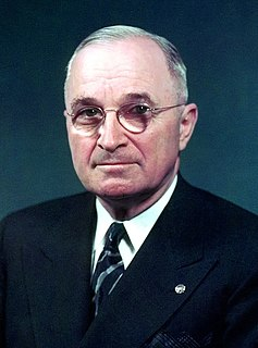 Harry S. Truman 33rd president of the United States
