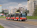 TT Kotlářka - Sídliště Řepy, Krematorium Motol, Tatra T6A5 dc.jpg