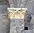 Taglia di biduino, capitelli laterali della pieve dei Santi Ippolito e Cassiano (San Casciano di Cascina), xii secolo, 02.jpg