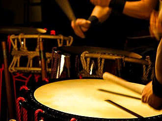 Intangible Cultural Property (Japan) - Image: Taiko 1