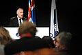 Tal av Nordiska radets nyvalda president, Henrik Dam Kristensen. Nordiska radets session 2010.jpg