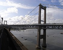 Tamar Bridge from train.JPG