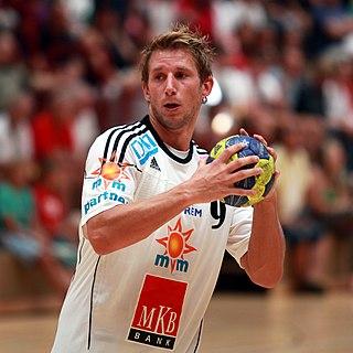 Tamás Iváncsik Hungarian handball player