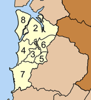 Map of subdistricts