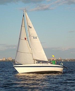 Tanzer 26 - Image: Tanzer 26 sailboat 2612
