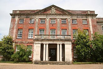 Tapeley - Tapeley Park, south front