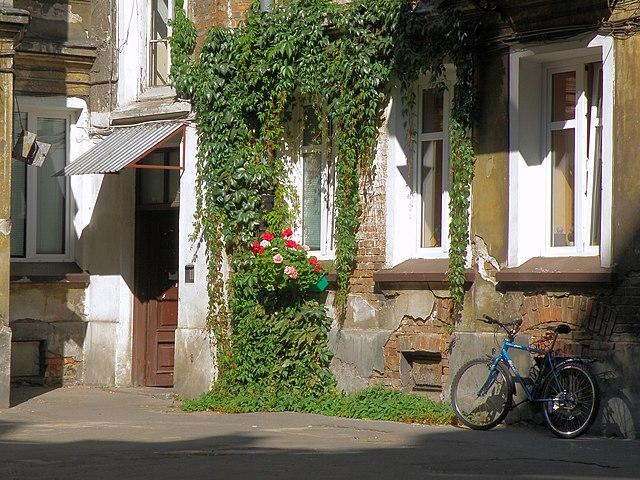 Ulica Targowa 14 dans le quartier de Praga à Varsovie.