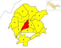 Location of Yakkasaray