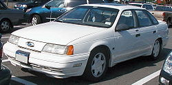 "1991 Ford Taurus SHO with the ""Plus"" package"