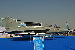 Aero India - Tejas on display