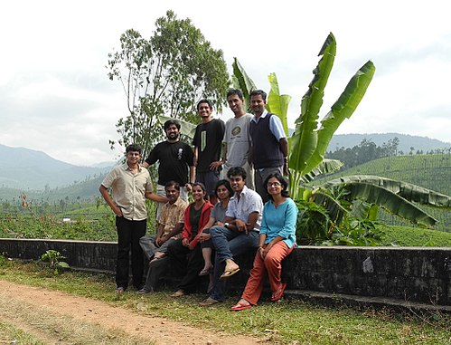 The participants of Wiki 10 meet in Valparai