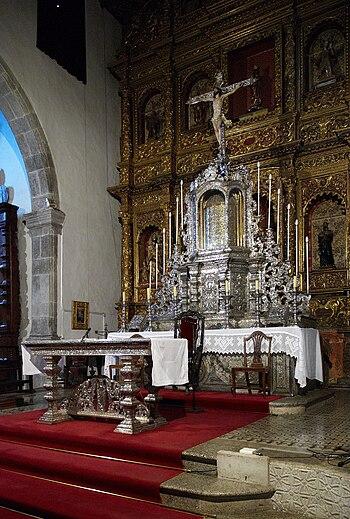 Tenerife Icod de los Vinos church C