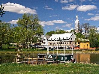 Terrebonne, Quebec - Image: Terrebonne Ecluse des Moulins