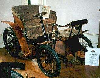 Vis-à-vis (carriage) - Image: Teste & Moret 1902