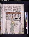 Text with placemarkers and rubric; miniature of Samson holding up columns (NYPL b12455533-426428).tif