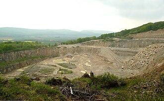 Thüster Berg - Quarry on the Thüster Berg