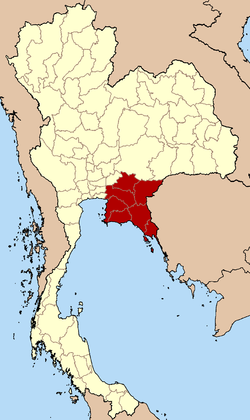 Eastern Region in Thailand