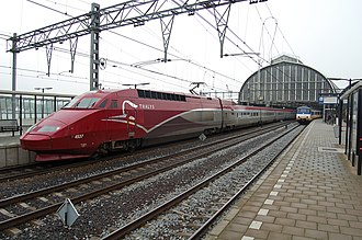 Thalys - Image: Thalys PBA redesign
