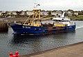 The 'Mare Gratia' arriving at Bangor harbour - geograph.org.uk - 1303871.jpg