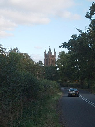 A458 road - Image: The A458 Enville geograph.org.uk 1510152