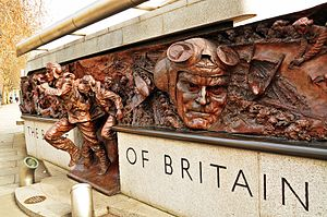The Battle of Britain Monument. Victoria Embankment, London.JPG