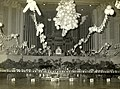 The Brisbane City Hall Ballroom is decorated for a Queensland Police Ball, circa 1965.jpg