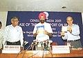 The Chairman, National Commission for Minorities Shri S. Tarlochan Singh releasing Census 2001 data on religion in New Delhi on September 6, 2004.jpg