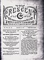 The Crescent newspaper a weekly record of Islam in England.JPG