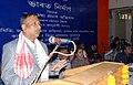 The Deputy Commissioner, Kamrup, Shri S.K. Roy delivering the inaugural address at the Public Information Campaign on Bharat Nirman, organized by the Press Information Bureau, Guwahati, at Bezera on January 20, 2011.jpg