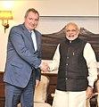 The Deputy Prime Minister of Russia, Mr. Dmitry Rogozin calling on the Prime Minister, Shri Narendra Modi, in New Delhi on December 08, 2015.jpg