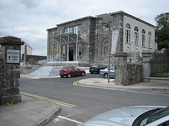 Carrick-on-Shannon - The Dock, former courthouse which is now an arts centre.