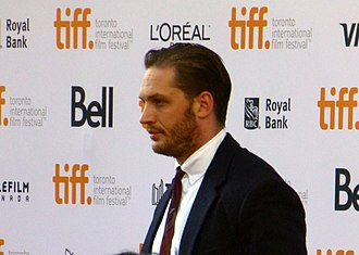 Tom Hardy - Hardy at the premiere of The Drop, 2014 Toronto Film Festival