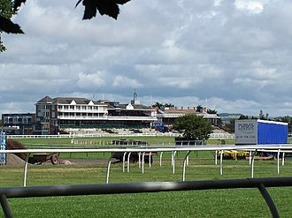Ayr Racecourse - Image: The Eglinton stands, Ayr race course geograph.org.uk 43204