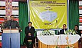 The Governor of Mizoram, Lt. Gen. (Retd.) M. M. Lakhera speaking at the 150 years celebrations of the Comptroller and Auditor General of India, at Aizawl on November 16, 2010.jpg