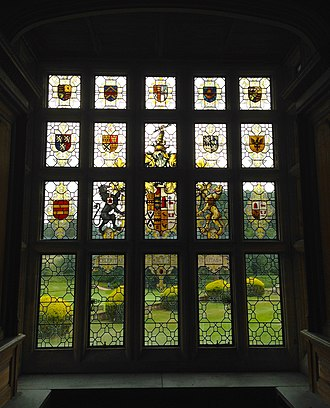 The Hendre - Image: The Hendre Cedar Library Window