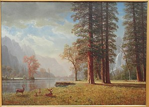 Hetch Hetchy - Albert Bierstadt, The Hetch Hetchy Valley, California, late 19th century
