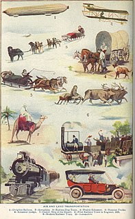 Mode of transport any form of vehicle or system used to transport people or goods from one place to another