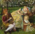 The King's Orchard - Arthur Hughes.JPG