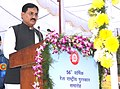 The Minister of State for Railways, Shri Bharatsinh Solanki addressing at the presentation ceremony of the 56th Railway Week National Awards for Outstanding Services-2011, in New Delhi on November 21, 2011.jpg