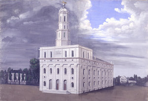 """The Nauvoo Temple"" by C.C.A. Christ..."