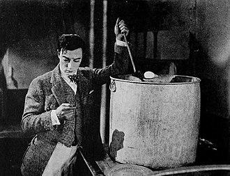 The Navigator (1924 film) - Buster Keaton in The Navigator.