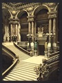 The Opera House, the grand staircase, Paris, France-LCCN2001698522.tif