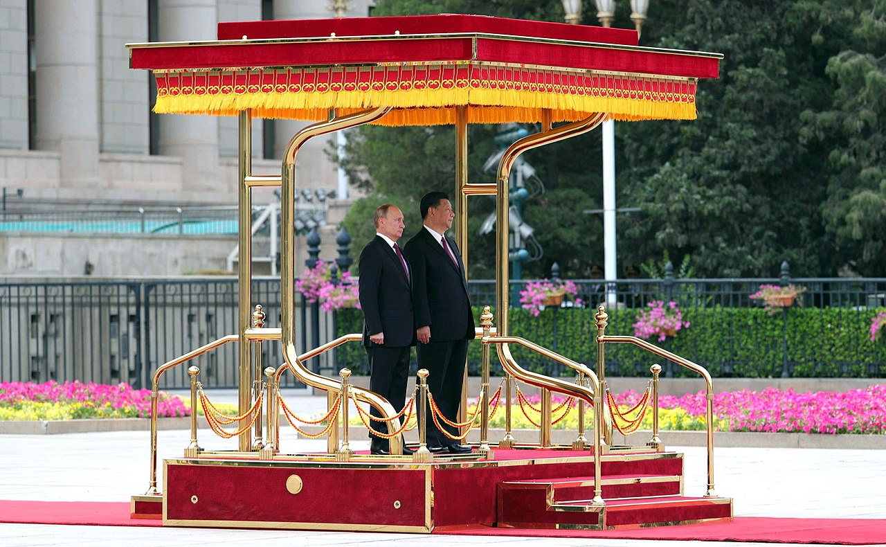 The President of Russia arrived in China on a state visit. 05.jpg